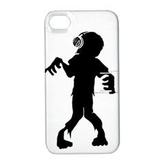 Zombie boogie Apple iPhone 4/4S Hardshell Case with Stand