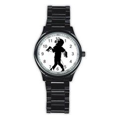 Zombie boogie Sport Metal Watch (Black)