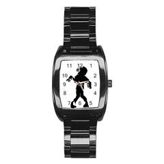 Zombie boogie Stainless Steel Barrel Watch