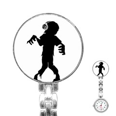 Zombie boogie Stainless Steel Nurses Watch