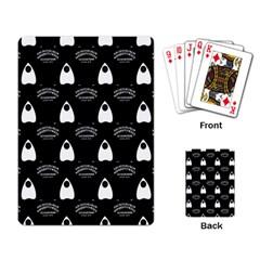 Talking Board Playing Cards Single Design