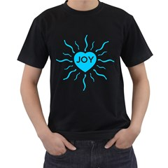 Radiant Joy Mens' T Shirt (black)