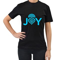 WIRELESS JOY Womens' T-shirt (Black)