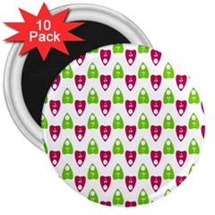 Talking Board 3  Button Magnet (10 pack)