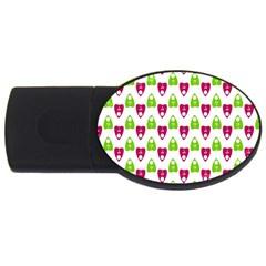 Talking Board 2GB USB Flash Drive (Oval)