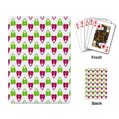 Talking Board Playing Cards Single Design
