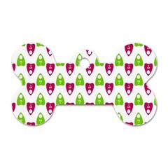 Talking Board Dog Tag Bone (Two Sided)