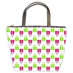 Talking Board Bucket Handbag