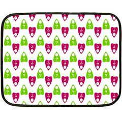 Talking Board Mini Fleece Blanket (Two Sided)
