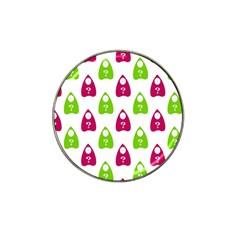 Talking Board Golf Ball Marker (for Hat Clip)