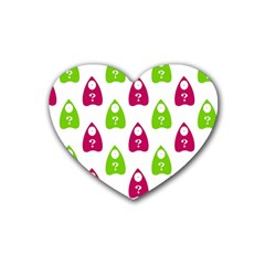 Talking Board Drink Coasters 4 Pack (Heart)