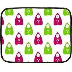 Talking Board Mini Fleece Blanket (Two Sided)