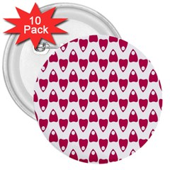 Talking Board 3  Button (10 pack)