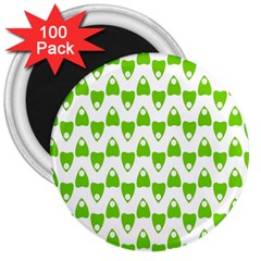 Talking Board 3  Button Magnet (100 pack)