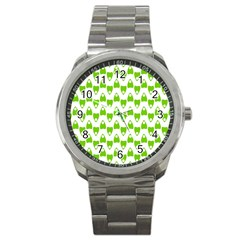 Talking Board Sport Metal Watch