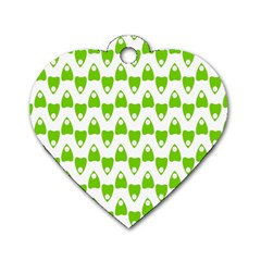 Talking Board Dog Tag Heart (One Sided)