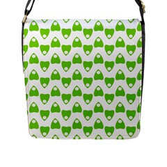 Talking Board Flap Closure Messenger Bag (Large)