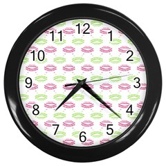 Talking Board Wall Clock (Black)