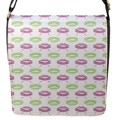 Talking Board Flap Closure Messenger Bag (Small)