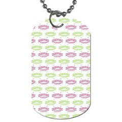 Talking Board Dog Tag (One Sided)