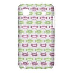 Talking Board Samsung Galaxy SL i9003 Hardshell Case