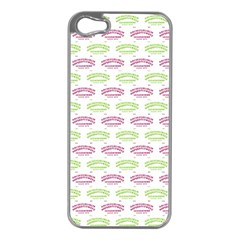 Talking Board Apple iPhone 5 Case (Silver)