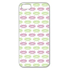Talking Board Apple Seamless iPhone 5 Case (Clear)