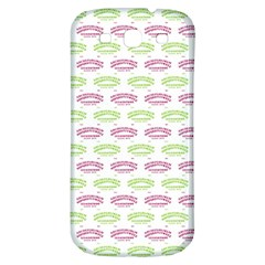 Talking Board Samsung Galaxy S3 S III Classic Hardshell Back Case