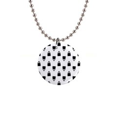 Talking Board Button Necklace