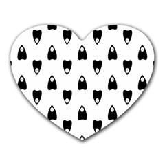 Talking Board Mouse Pad (Heart)