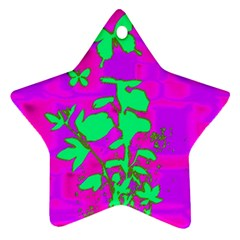 Butterfly Star Ornament