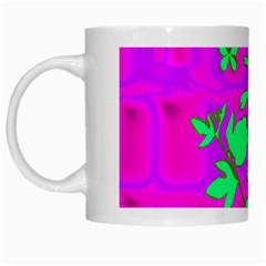 Butterfly White Coffee Mug