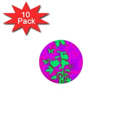 Butterfly 1  Mini Button (10 pack)