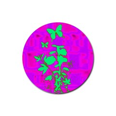 Butterfly Drink Coaster (round)