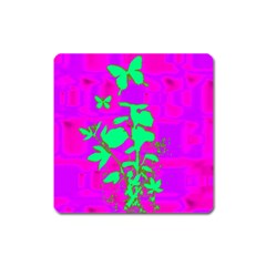 Butterfly Magnet (Square)