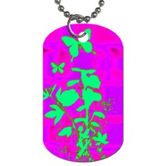 Butterfly Dog Tag (two Sided)