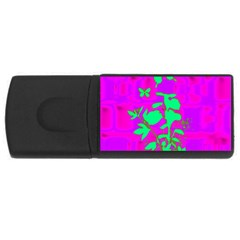 Butterfly 1GB USB Flash Drive (Rectangle)