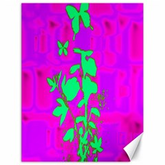 Butterfly Canvas 18  x 24  (Unframed)
