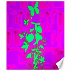 Butterfly Canvas 20  X 24  (unframed)