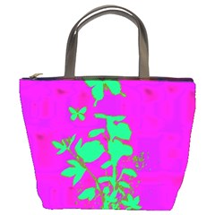 Butterfly Bucket Handbag