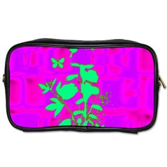 Butterfly Travel Toiletry Bag (two Sides)