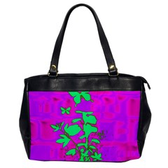 Butterfly Oversize Office Handbag (One Side)