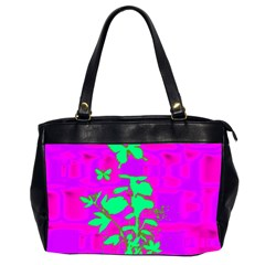 Butterfly Oversize Office Handbag (Two Sides)
