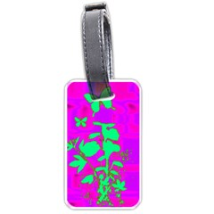 Butterfly Luggage Tag (one Side)