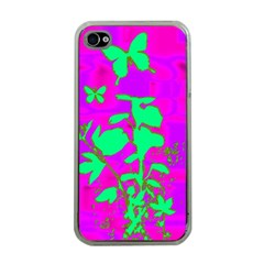 Butterfly Apple Iphone 4 Case (clear)