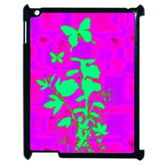Butterfly Apple iPad 2 Case (Black)