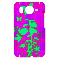 Butterfly HTC Desire HD Hardshell Case