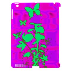 Butterfly Apple iPad 3/4 Hardshell Case (Compatible with Smart Cover)