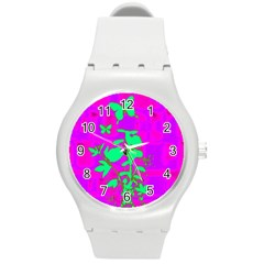 Butterfly Plastic Sport Watch (Medium)