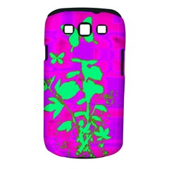 Butterfly Samsung Galaxy S III Classic Hardshell Case (PC+Silicone)